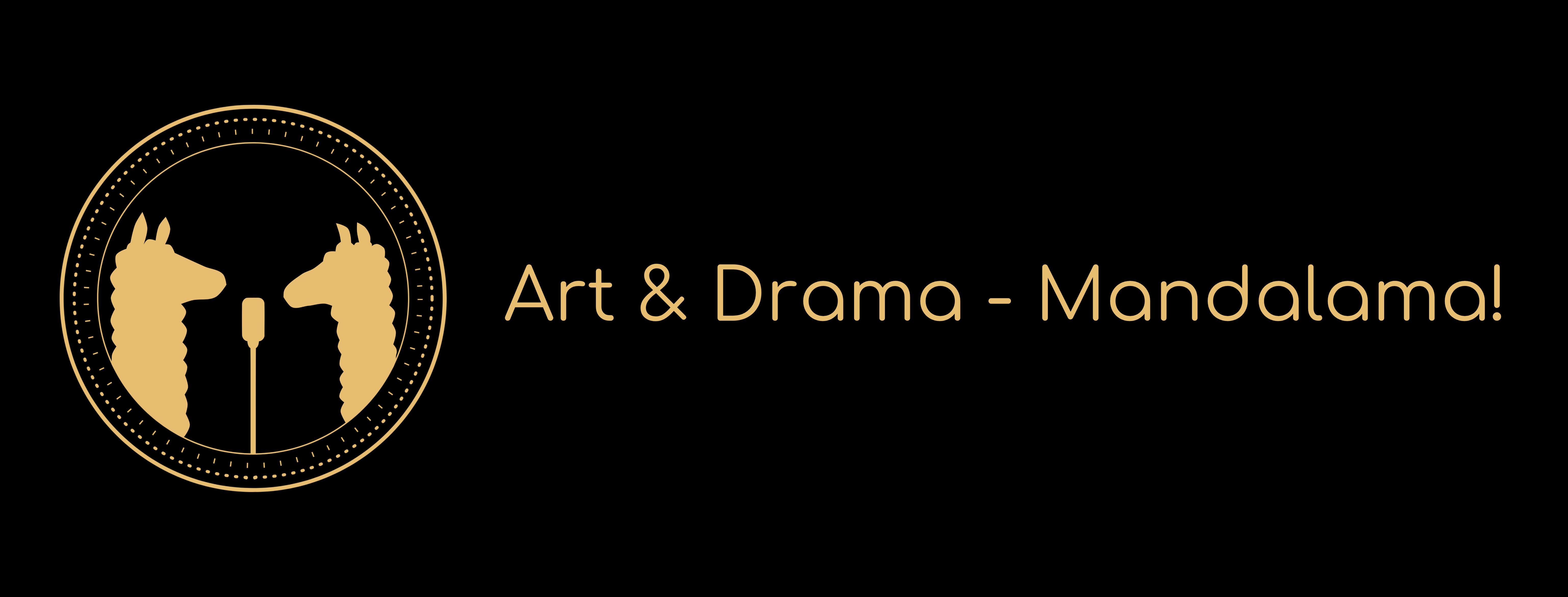Logo Art und Drama – Mandalama